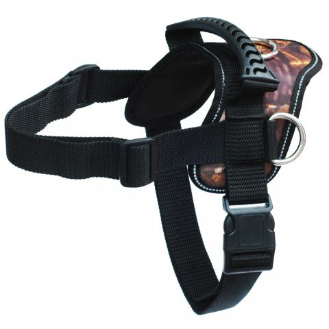 Camouflage heavy duty harness